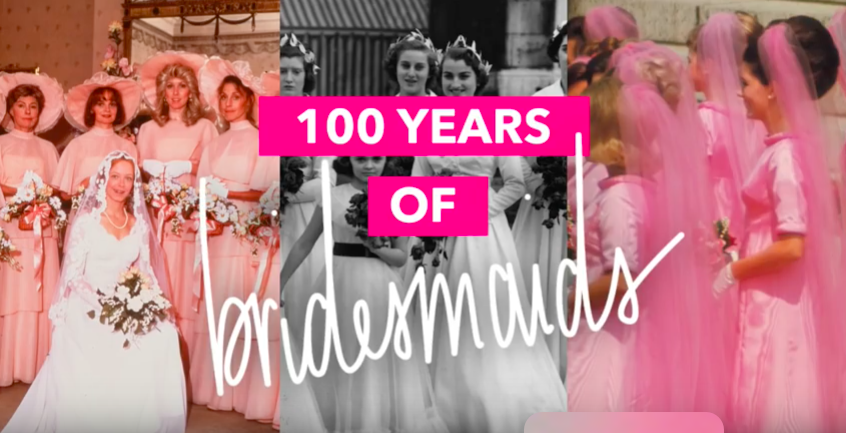 100 Years of Bridesmaids Dresses- The Good – The Bad – The Gorgeous!